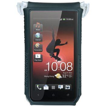 """Topeak SmartPhone Dry Bag 3""""-4"""" , držák na kolo, černá"""