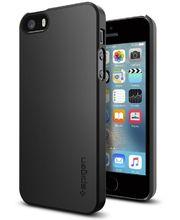 Spigen pouzdro Thin Fit pro iPhone SE/5s/5, černá
