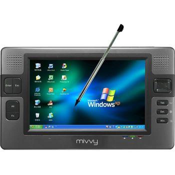 """mivvy UMPC UM570 7"""" VIA 1,2/WIFI/BT/60GB/2GB RAM/1,3Mpx"""