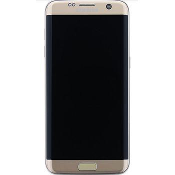 Náhradní díl LCD display + Dotyk Samsung G935 Galaxy S7 Edge zlatá