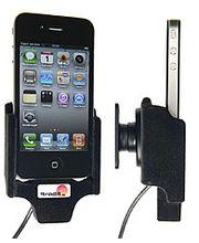 Brodit držák do auta na Apple iPhone 4/4S bez pouzdra se skrytým nabíjením
