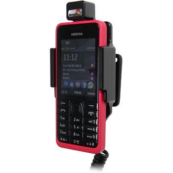 Brodit držák do auta na Nokia 301 bez pouzdra, s nabíjením z cig. zapalovače