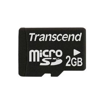 Transcend microSD 2GB paměťová karta
