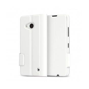 Mozo flipové pouzdro pro Lumia 550, bílé