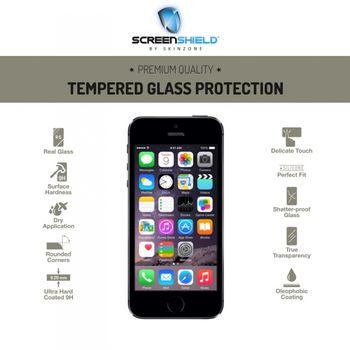 Temperované sklo ScreenShield pro Apple iPhone 5S - celé tělo