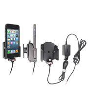 Brodit držák do auta na Apple iPhone 5/5S/SE rozšířitelný 59-63mm tl. 6-10mm  se skrytým nab.