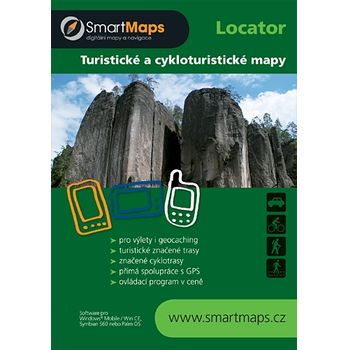 SmartMaps Locator: TM25 - 127 - Okolí Brna - západ 1:25.000 (Windows Mobile/Win CE/Symbian/Android)