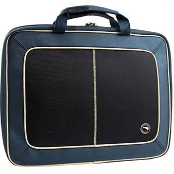 """Krusell Radical Laptop Slim taška na notebook - do 16"""" - modrá/černá"""