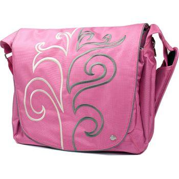 """Krusell Radical Messenger taška na notebook - do 16"""" - růžová"""