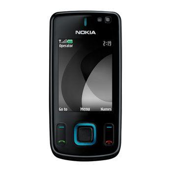 NOKIA 6600 slide Black Blue