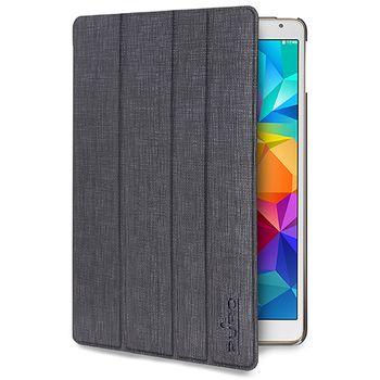 Puro flipové pouzdro se stojánkem Zeta Slim ICE pro Samsung Galaxy Tab S 8.4, šedé