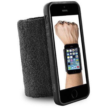 Puro sportovní náramek s rámečkem pro iPhone 6 4.7, černá