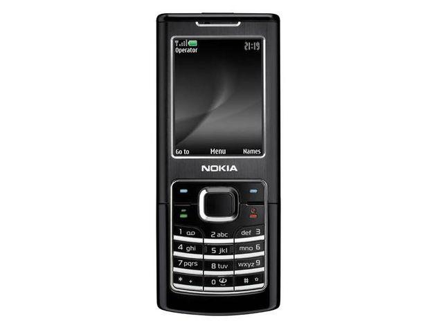 obsah balení NOKIA 6500 classic Black + náhradní baterie 1050mAh