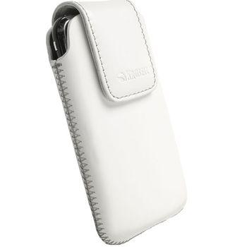 Krusell pouzdro Vinga - L - Nok Lumia 800/Asha 300, ZTE Blade,Sony Erics Xpra Pro 114x67x16mm (bílá)