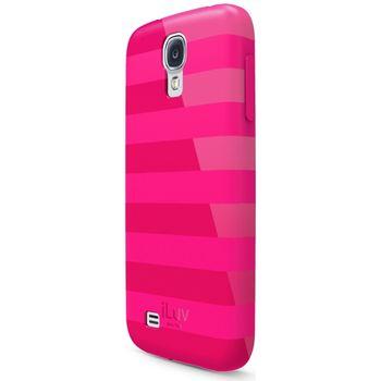 iLuv Gelato l Soft, flexible pouzdro pro Samsung Galaxy S4 růžové