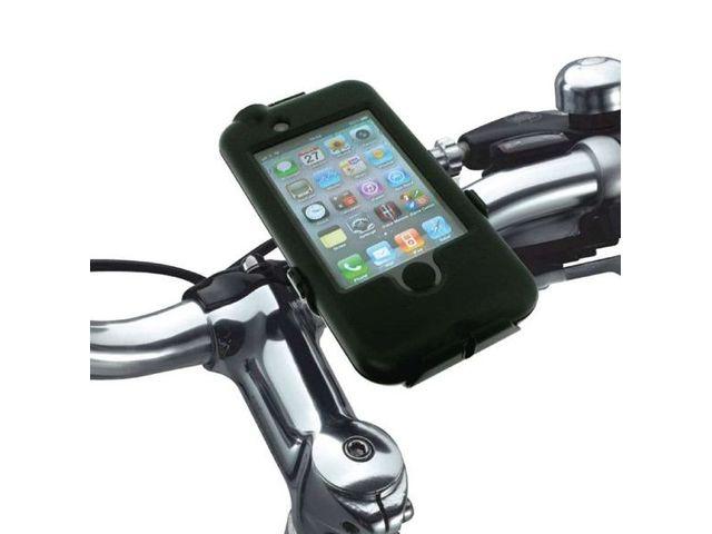 obsah balení Držák BikeConsole pro iPhone 4/4S/3G/3GS na kolo nebo motorku na řídítka pro uchycení telefonu + stylus SJ3 černý