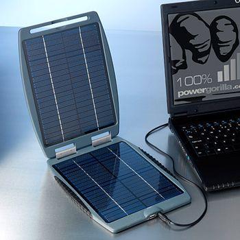 Solární záložní nabíječka Solargorilla - pro notebooky - bazar 100% stav - záruka 1 rok