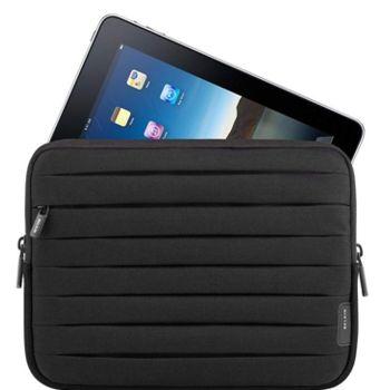 Belkin nový iPad/iPad2 Sleeve Pleated, černá (F8N277cw)
