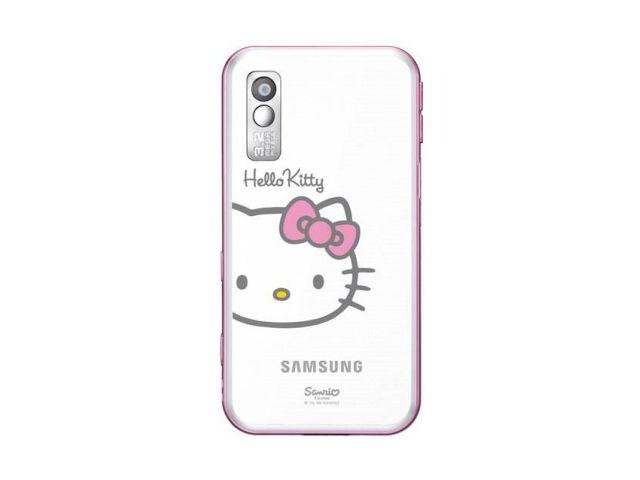 obsah balení Samsung S5230 Star Hello Kitty + Krusell pouzdro Coco Pouch (bílá)