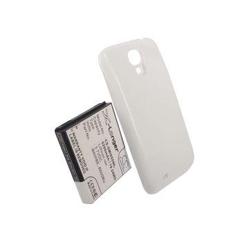 Baterie pro Samsung Galaxy S4 (i9505), rozšířená včetně bílého krytu, 5200mAh, Li-ion + univerzální nabíječka baterií