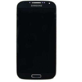 Náhradní díl LCD displej s dotykovou vrstvou + přední kryt pro Samsung i9505 Galaxy S4,black edition