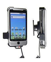 Brodit držák do auta na HTC Desire Z bez pouzdra, s nabíjením z cig. zapalovače