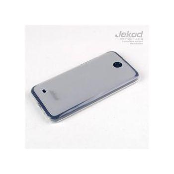 Jekod TPU silikonový kryt HTC Desire 300, bílá