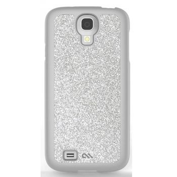 Case Mate Glimmer pro Samsung Galaxy S4 - stříbrná