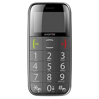 Aligator A500 černý - mobilní telefon pro seniory