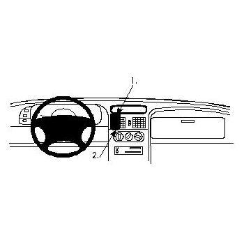 Brodit ProClip montážní konzole pro Renault Laguna 94-00, na střed