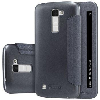Nillkin flipové pouzdro Sparkle S-View pro LG K10, černé