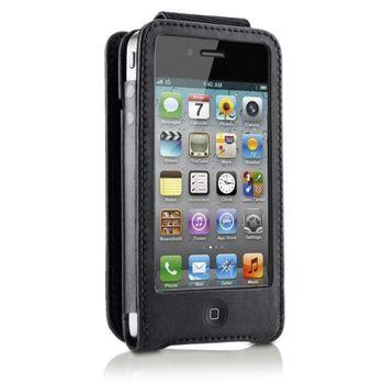 Belkin iPhone 4/4S ochranné pouzdro kožené, černé