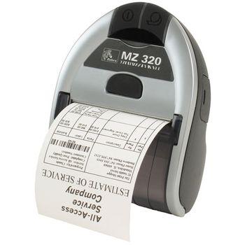 Zebra MZ320 IRDA,USB EU,CPCL,203dpi,74mm,therm +BT, printer - mobilní tiskárna M3E-0UB0E020-00