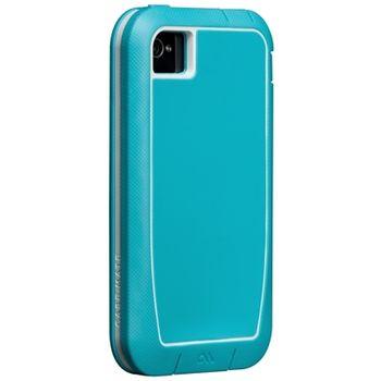 Case Mate Phantom pro Apple iPhone 4/4S Aqua/White