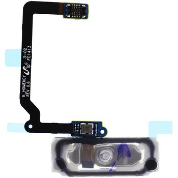 Náhradní díl Home tlačítko s flex kabelem pro Samsung G900 Galaxy S5, zlatá