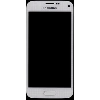 Náhradní díl LCD displej s dotykovou vrstvou pro Samsung G800 Galaxy S5 Mini, bílá