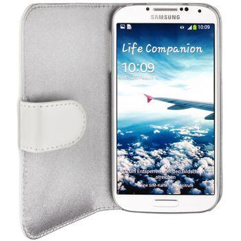 Artwizz Seejacket pouzdro kožené pro Samsung Galaxy S4 - bílá