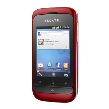 Alcatel One Touch 903D Dual-Sim červený