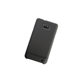 Pouzdro plastové Brando s kovovým vzhledem - Samsung Galaxy S II (černá)