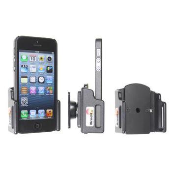 Brodit držák do auta na Apple iPhone 5/5S/5C/SE v pouzdru, nastavitelný, bez nabíjení
