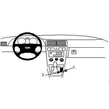 Brodit ProClip montážní konzole pro Audi A3 97-03 For Europe, na středový tunel