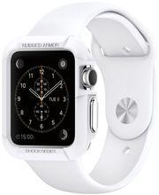 Spigen ochranný kryt pro Apple Watch 42mm Rugged Armor, bílý