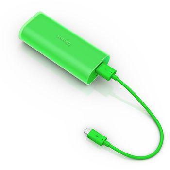Nokia DC-21 záložní zdroj micro USB 6000mAh, zelená