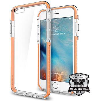 Spigen pouzdro Ultra Hybrid TECH pro iPhone 6/6s, oranžové