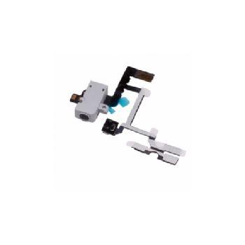 Náhradní díl flex audio kabel pro Apple iPhone 4S, bílý
