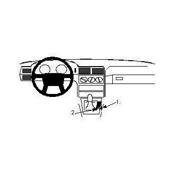 Brodit ProClip montážní konzole pro Volvo 850 92-97, na středový tunel