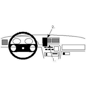 Brodit ProClip montážní konzole pro Opel Vectra 89-95/Calibra 91-97, na střed