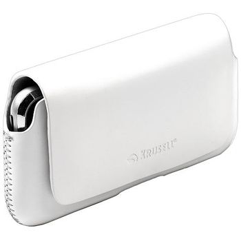 Krusell pouzdro Hector - M wide - Motorola Defy+/Defy, Nok 5530, Sam S5230 / X8 113x55x19mm (bílá)