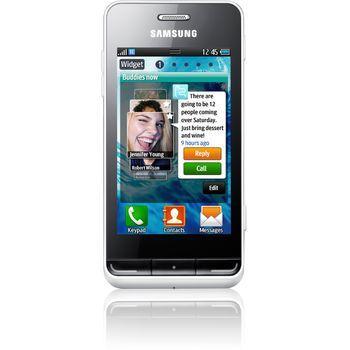 Samsung Wave 723 cream white