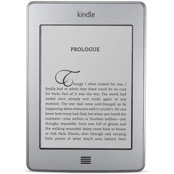 """Amazon Kindle TOUCH, 6"""" E-ink dotykový displej, Wi-Fi + originální pouzdro z umělé kůže - černá"""
